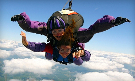 Tandem Skydive Jump for 1 Person (a $230 value) - Air Indiana Skydiving Center in Delphi