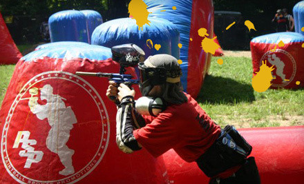 Paintball Package with Field Entry, Marker Rental, 300 Paintballs, and Safety Equipment for 1 (a $42 value) - Paintball Indiana in Martinsville