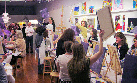 Painting Class for 2 - Palettes in Natick