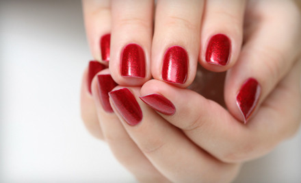 One Shellac Manicure and Paraffin Treatment (a $40 value) - Growing Hands Salon & Spa in North Lauderdale