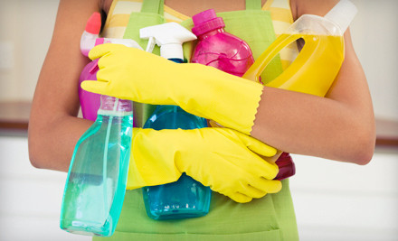 1 2-Hour Housecleaning Session - On the Spot! Cleaning in