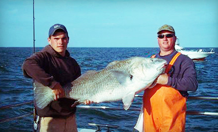 Fishing Trip for 2 Adults and 2 Kids - Cape May Lady in Cape May