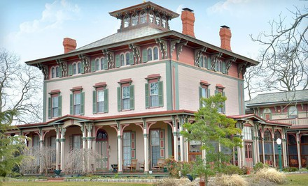 Two-Night Stay for Two in a King Room, Valid SundayThursday, April 1May 31 - The Southern Mansion in Cape May
