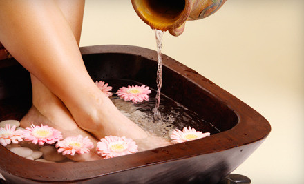 60-Minute Spa Package with 30-Minute Foot Reflexology Treatment and 30-Minute Mini Facial (a $120 value) - Mira's in Malibu