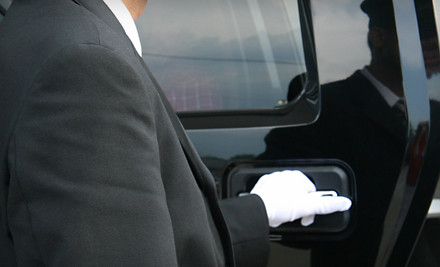 1-Way Drop-Off Car Service for Up to 6 Passengers (a $65 value) - V-One Limousines in