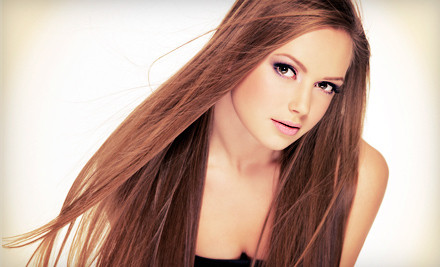 1 Haircut, Full Set of Highlights, and Style (a $135 value) - Paul Joseph Salon & Spa in Naperville
