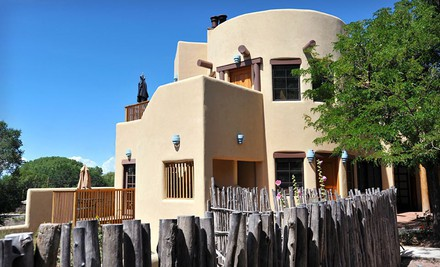 One-Night Stay for Two in a Happy Trails, Georgia's Garden, Sky, or Taos Pueblo Deluxe King Room, Valid Sun.Thurs.  - Inn on La Loma Plaza in Taos