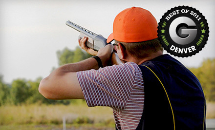 Clay-Shooting Package for 2 on Monday to Thursday - Golden Gun Club in Watkins