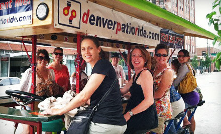 Any Public Pub Crawl for Two, Valid for Weekday Rides (a $60 value) - Denver Patio Ride in Denver