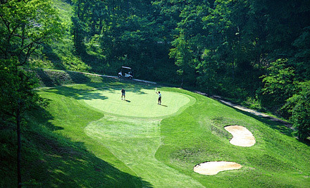 Round of Golf for 2 with Cart Rental  - Smoky Mountain Country Club in Whittier