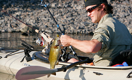 Introduction to Kayak Fishing Class, Redeemable FridaySunday (a $119 value) - eNRG Kayaking in Oregon City