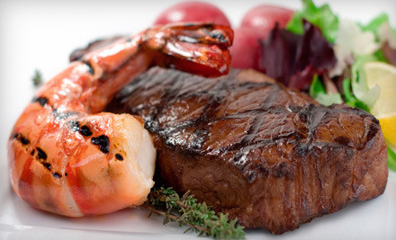 Surf n Turf Package A Dinner for Two (a $159 value) - Tailgate Steaks and Seafood in