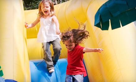 Admission for 2 Adults and 2 Children (a $70 value) - Inflatable World in San Diego