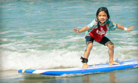 1 Half-Day Children's or Teen's Coed Surf Camp (a $297 value) - Surf Diva in La Jolla