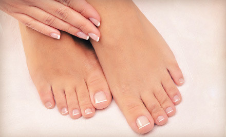 Regular Mani-Pedi Package (a $49 value) - La Vie de Luxe in Chalfont