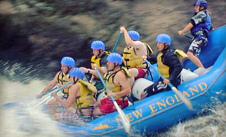 Whitewater Rafting Adventure for 2 Including Lunch - New England Outdoor Center in