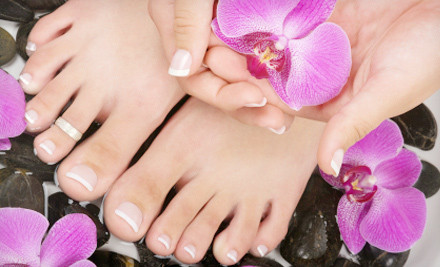 Spa Manicure and Spa Pedicure (a $40 total value) - Academy of Nail Technology in Phoenix