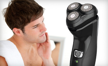 Groupon Goods  - Remington Rotary Shaver in