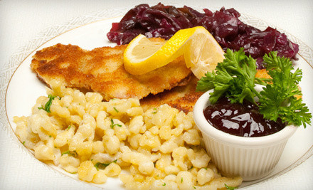 $60 Groupon for Viennese Cuisine Plus a $50 Credit Toward an Overnight Stay - Vienna Restaurant and Historic Inn in Southbridge