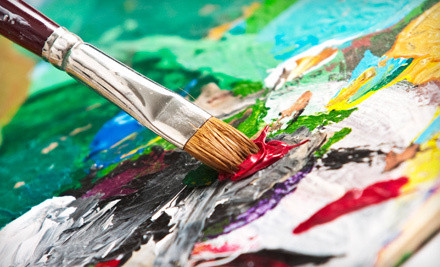Drop-In Ceramics Painting or Glass Fusing Experience for 2, Plus $25 Worth of Materials Per Person (a $66 value) - A Stroke of Creativity in Monroe Township