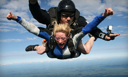 Good for a Static-Line Skydiving Course (a $235 value) - Central Maine Skydiving in Pittsfield