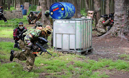 Paintball Outing for 1 (a $40 value) - QuickShot Paintball in Shamong
