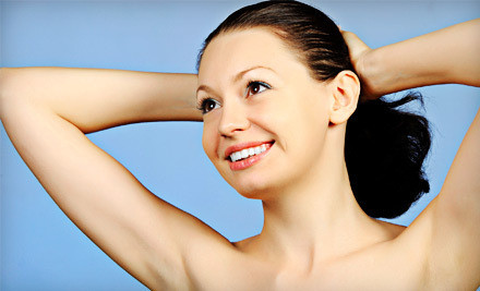 6 Laser Hair-Removal Treatments on One Small Area - The Face Company in St. Louis