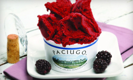 Paciugo Gelato thanks you for your loyalty - Paciugo Gelato in Overland Park