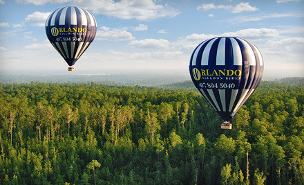 One Adult Admission for a Sunrise Ride in a Hot Air Balloon - Orlando Balloon Rides in Kissimmee