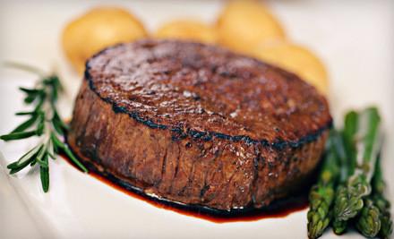 Dinner for 2 - Lee Gribben's on Main in Emmaus