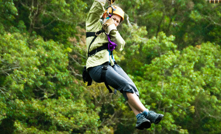 Zipline Ride (a $75 value) - Griffin Park in Hardy