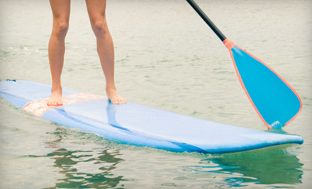 Day of Paddleboarding and Lunch for 4 (a $400 value) - Go Stand Up Paddle in Peoria