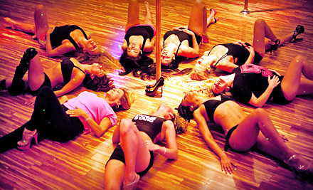 3 Pole Classes and 1 Sexy Yoga Class - Polestars  in Hollywood