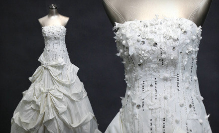 Custom Wedding Dress From the Elegance, Precious, or Exceed Collection (a $548 value) - Memorial Wedding in