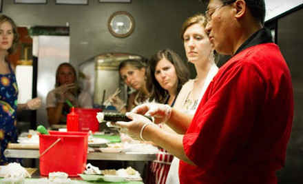 90-Minute Introduction & Making Maki Roll Class for 2 - Sea To You Sushi in Brookline