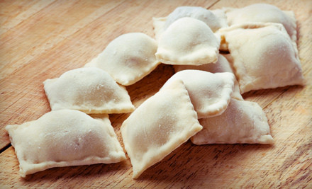 3 Pounds of Ravioli and 3 Pounds of Fresh-Cut Pasta - Nonna Maria's Homemade Pasta in Clifton