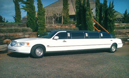 2 Hours of Limo Service for up to 8 People (a $210 value) - Sea Breeze Limousine in