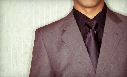 Custom Suit Package (a $1,650 value)  - Bryn Keith Clothing Company, Inc. in Arlington