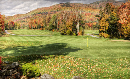 Golf Outing Package for Two - Green Mountain National Golf Course in Killington