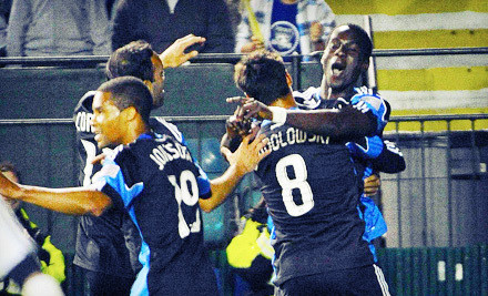 San Jose Earthquakes at Buck Shaw Stadium on Sat., Apr. 7 at 4PM: Sideline Seating - San Jose Earthquakes in Santa Clara