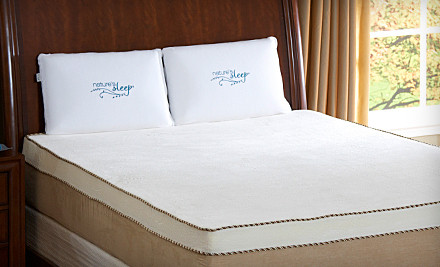 8-Inch Nature's Sleep King Memory-Foam Mattress (a $1,700 value) - Nature's Sleep in