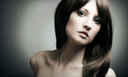 Haircut and Style (a $65 value) - Lisa Davies Haircare at Salon Amenity in Bellevue