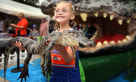 Mini Golf and Alligator Feeding for a Child 11 or Younger (a $28 value) - Gator Golf in Orlando
