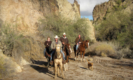 2-Hour Guided Horseback Trail Ride for 1 (a $65 value) - Cowboy Way Adventures in Wickenburg