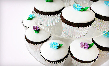 Choice of One Dozen Cupcakes with Buttercream Frosting or a 6-inch Round Cake (a $42 value) - Helena Wirth Cakes in Sherman Oaks
