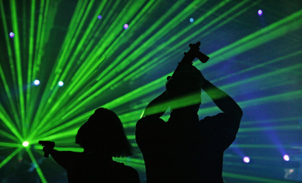 4 Games of Laser Tag for 1 (a $24 value) - Laser Chase in Franklin
