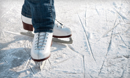 Ice Skating for Two People  - Aviator Sports & Events Center in Brooklyn