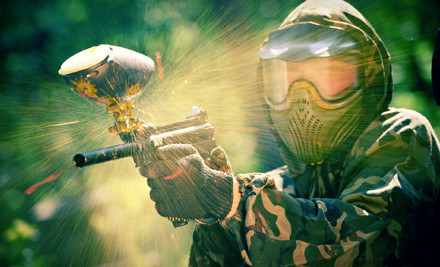 All-Day Paintball Outing for 2 (an $80 value) - Warped Paintball Park in Castaic