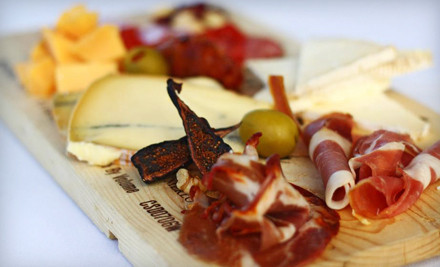 Two Wine Flights and a Cheese and Charcuterie Tray - redwhite+bluezz in Pasadena