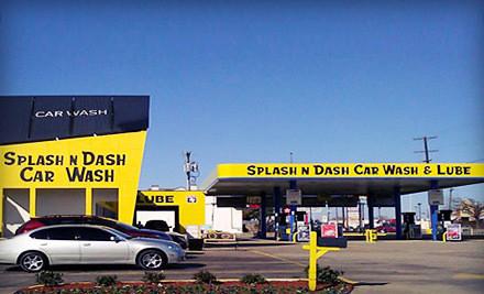 Two Preferred Wash Packages - Splash N Dash Car Wash in Dallas